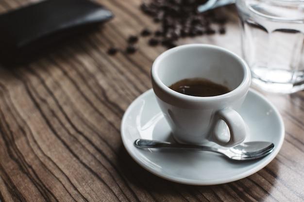 Simple single shot espresso