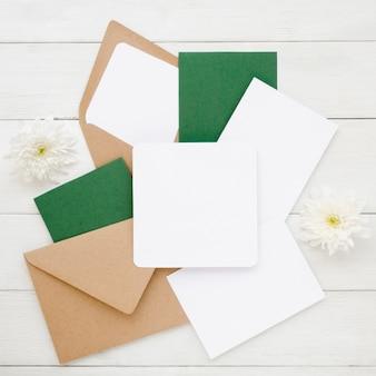 Simple wedding invitation pack