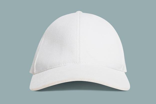 간단한 흰색과 분홍색 모자 모자 액세서리