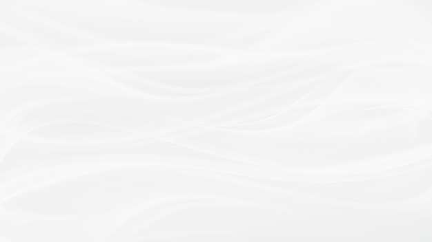 Simple white background with smooth lines in light colors