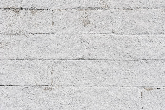 Simple white brick wall background