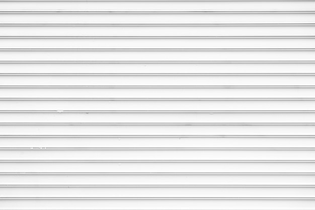 Simple white metal wall background