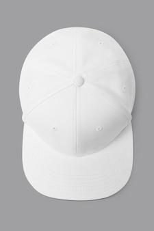 Semplice accessorio copricapo con berretto bianco e rosa