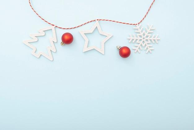 단순히 크리스마스 레이아웃, 겨울 인사말 카드