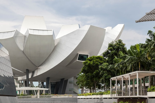 Singapore - february 3 : view of the artscience museum in singapore on february 3, 2012