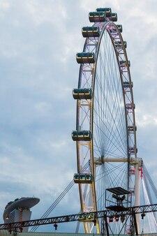 싱가포르의 싱가포르 플라이어 관람차