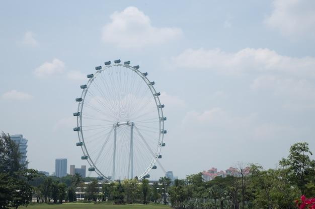 낮에 싱가포르 플라이어입니다.