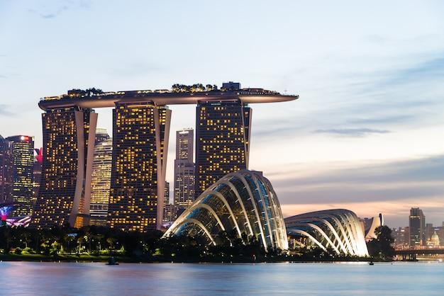 Сингапур современное здание вид офиса