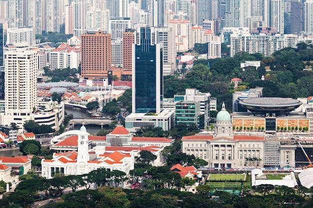 シンガポール-2014年10月18日:シンガポールの街並み。