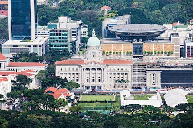 シンガポール-2014年10月18日:旧最高裁判所ビルは、シンガポール最高裁判所の旧裁判所です。