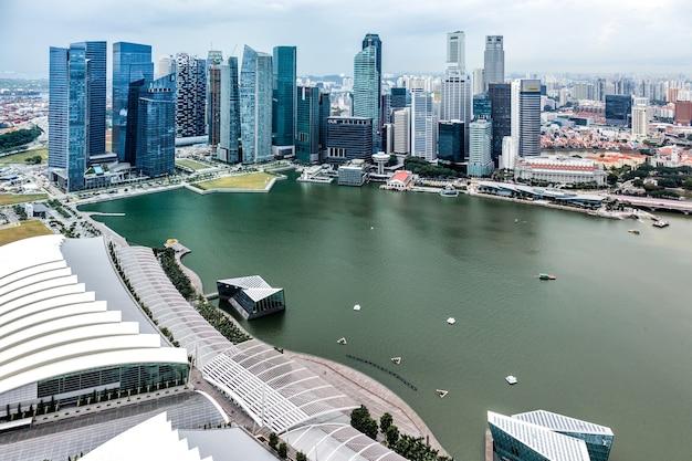 싱가포르 스카이라인