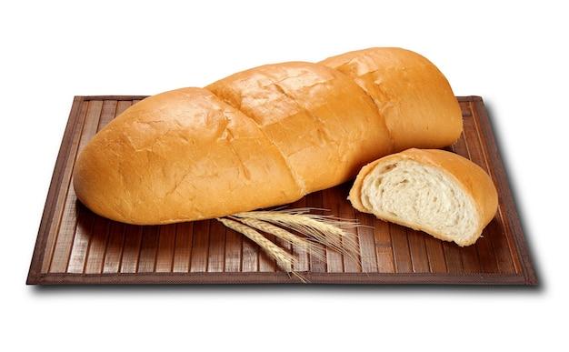 고립 된 단일 양질의 거친 밀가루 빵