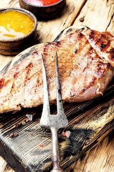 Sirloin beef steak