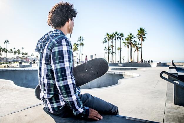 ロサンゼルスで活躍中のスケーター