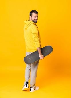 A skater man