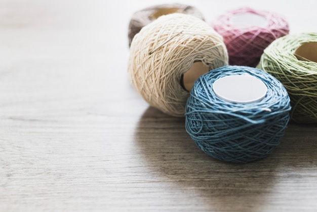 Skeins of thread