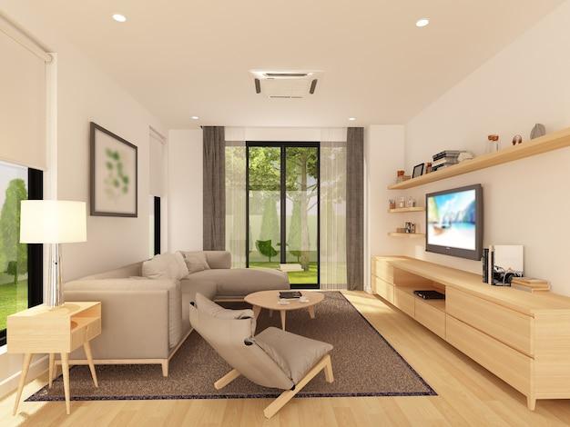 Эскизный дизайн жилого
