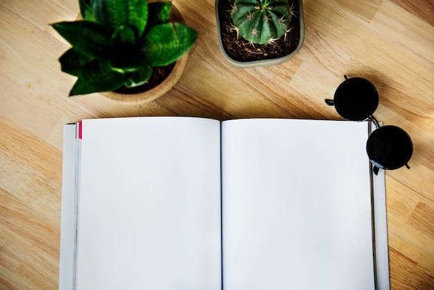 Sketching creative notebook notepad flatlay