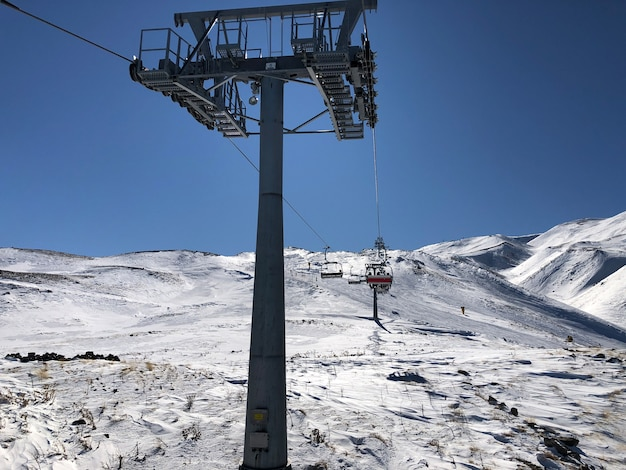 Erciyes, 터키의 스키 리조트에서 스키 리프트