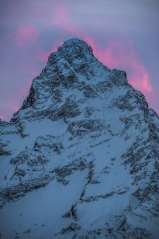 겨울에 스키 리조트 dombay, karachay-cherkessia, 러시아