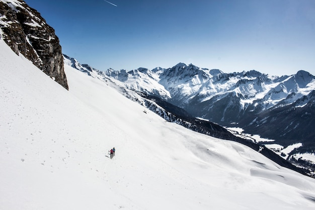 Skiing_1_skitour in the alps_sport extreme