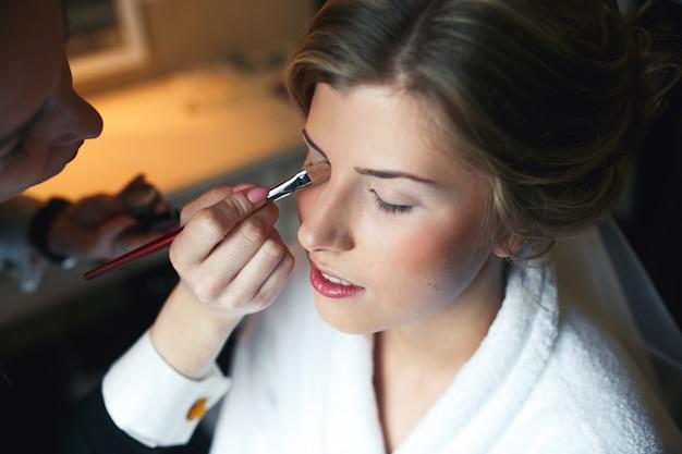Skill closeup brow fashion skin