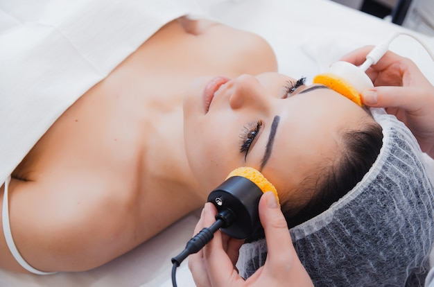 Skin care, microcurrent therapy.