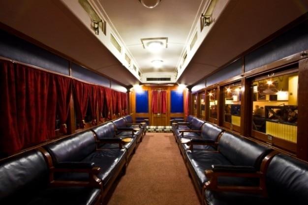 Skukuza train interior