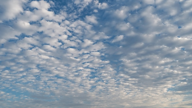 하늘과 구름, 좋은 날씨의 날.