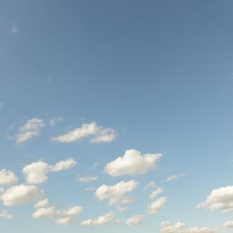 Небо и облака. отфильтрованное изображение в стиле ретро