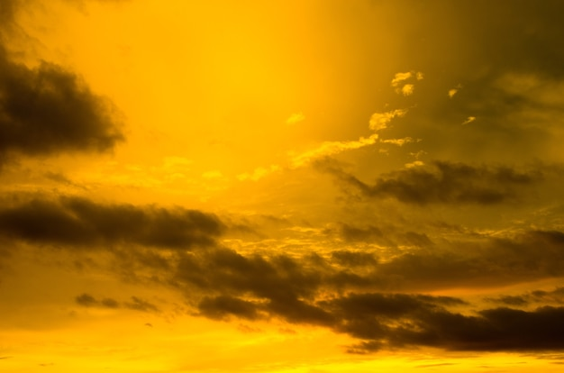 Фон неба на восходе солнца