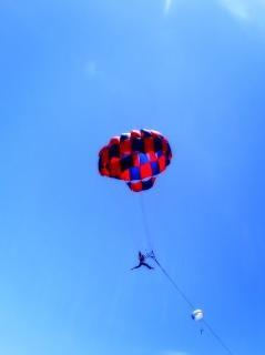 Sky, blue, sport