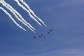 空雲航空機航空ショー