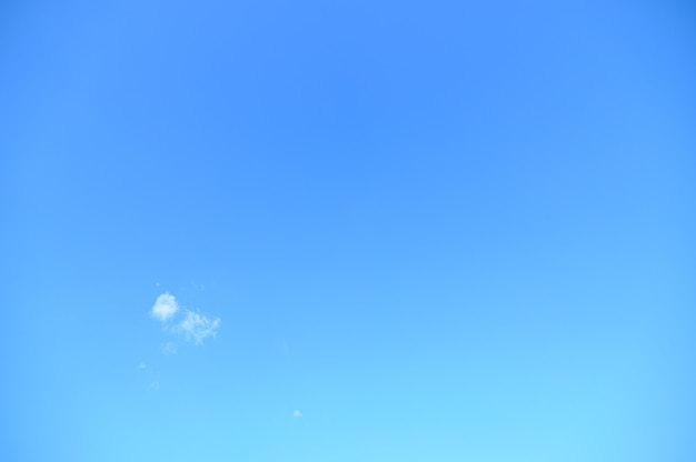 Sky and clouds in the daytime
