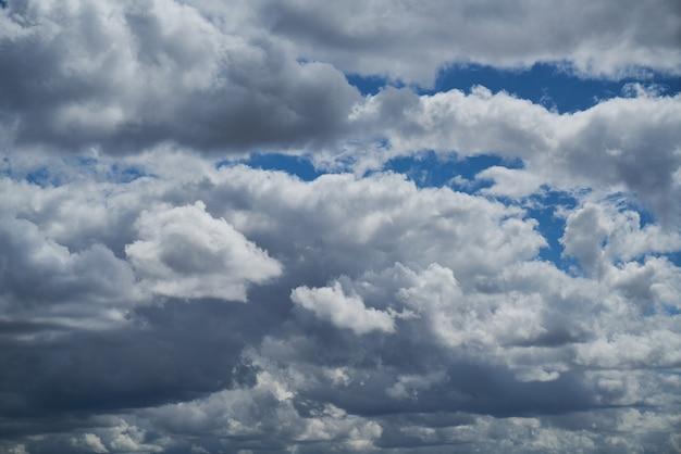 Cielo coperto di nuvole