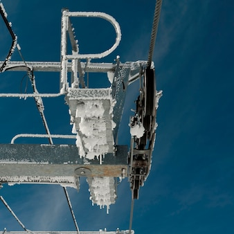 Sky lift pulleys, symphony amphitheatre, whistler, british columbia, canada
