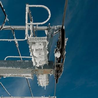 Шкивы sky lift, симфонический амфитеатр, уистлер, британская колумбия, канада
