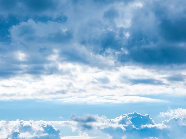 Небо на фоне облаков