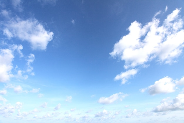 雲のある空
