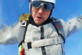 Skydiver snapshot