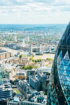 Skyline of london city