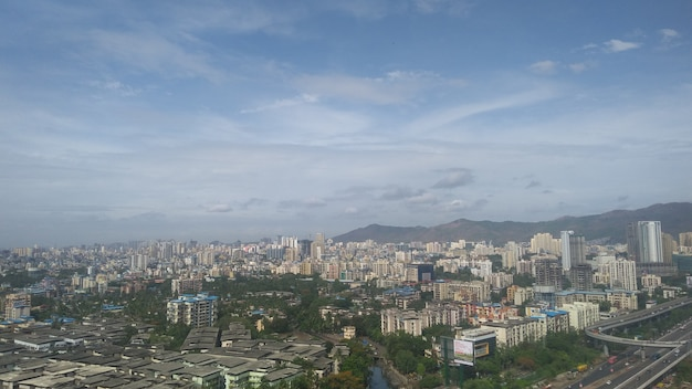 Skyline of thane