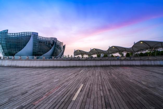 Skyline of urban modern architectural landscape