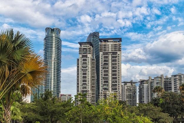 Небоскребы и современные офисные здания