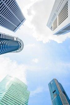 シンガポールの超高層ビル