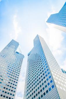 Здание небоскреба