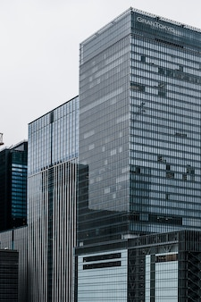 市内の超高層ビル