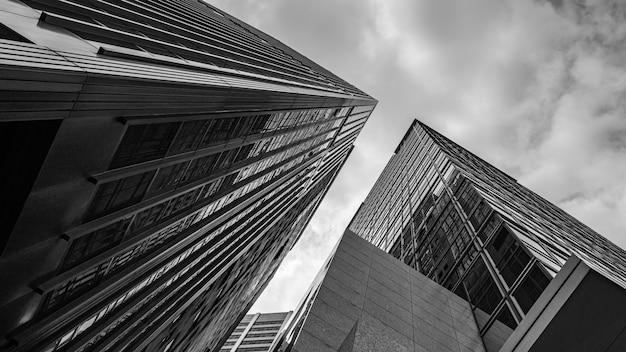 Skyscraper commercial building