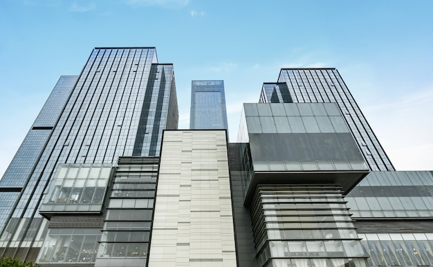 The skyscraper is in chongqing, china