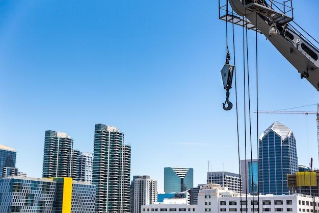 고층 건물 기술.